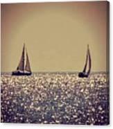 The Joy Of Sailing Canvas Print