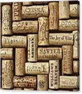 The Joy Of Wines Canvas Print