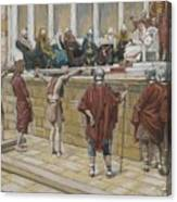 The Judgement On The Gabbatha Canvas Print