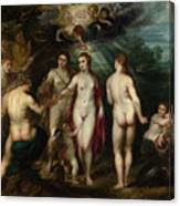 The Judgment Of Paris Canvas Print