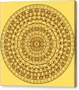 The Jungle Mandala Canvas Print