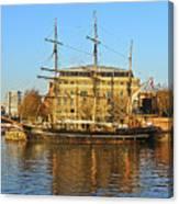 The Kaskelot In Bristol Dock Canvas Print