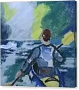 The Kayak Canvas Print