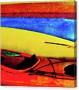 The Kayaks Canvas Print