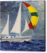 The Ketch Canvas Print