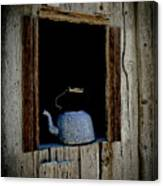 The Kettle Canvas Print