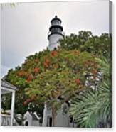 The Key West Lighthouse Canvas Print