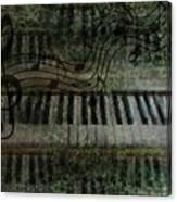 The Keyboard Canvas Print