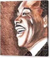 The King Smiles Canvas Print