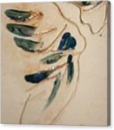 the Kiss - tile 3 Canvas Print