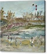 The Kite Runners Canvas Print