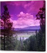 The Kootenai Wildlife Reserve   Canvas Print