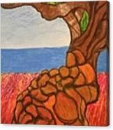 The Labor Day Hamptons Tree Canvas Print