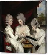 The Ladies Waldegrave Canvas Print