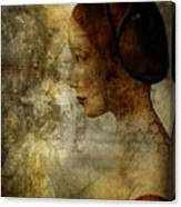 The Lady Canvas Print
