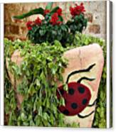 the Ladybug Canvas Print