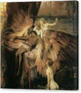 The Lament For Icarus  Canvas Print