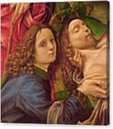 The Lamentation Of Christ Canvas Print