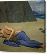 The Lamentation Of Orpheus Canvas Print