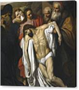 The Lamentation Canvas Print