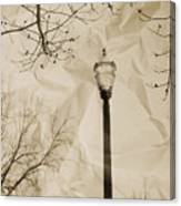 The Lampost Canvas Print