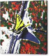 The Landing Canvas Print