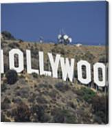 The Landmark Hollywood Sign Canvas Print