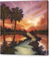 The Lane Ahead Canvas Print