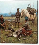 The Laplander Camp At Gleen Canvas Print