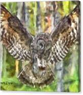 The Largest Owl Canvas Print