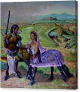 The Last Abduction Canvas Print
