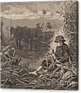 The Last Days Of Harvest Canvas Print