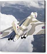 The Last Flight Of The Vulcan Canvas Print