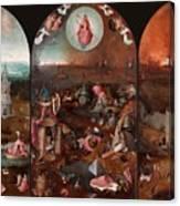 The Last Judgement Hieronymus Bosch Canvas Print