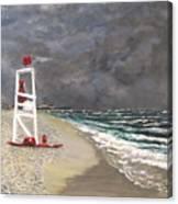 The Last Lifeguard Canvas Print