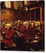 The Last Muster Canvas Print