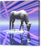 The Last Of The Unicorns 2 Canvas Print