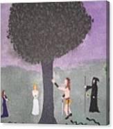 The Last Tree Canvas Print