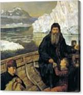The Last Voyage Of Henry Hudson Canvas Print
