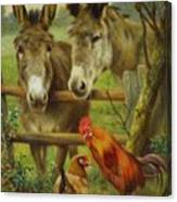 The Latest Arrivals Canvas Print