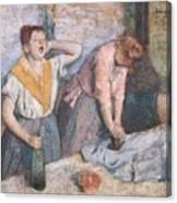 The Laundresses Canvas Print