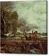 The Leaping Horse Canvas Print
