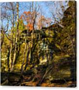 The Ledges  Canvas Print