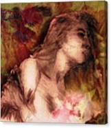 The Left Handed Portrait Canvas Print