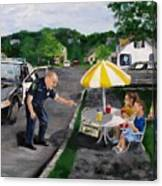 The Lemonade Stand Canvas Print