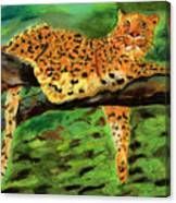 The Leopard Canvas Print