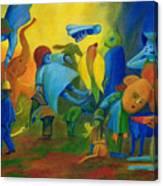 The Levitation. Canvas Print