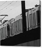 The Light Rail Canvas Print