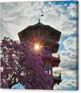 The Light Through The Pagoda Canvas Print