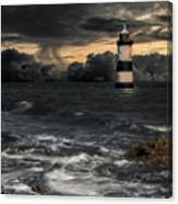 The Lighthouse Storm Canvas Print